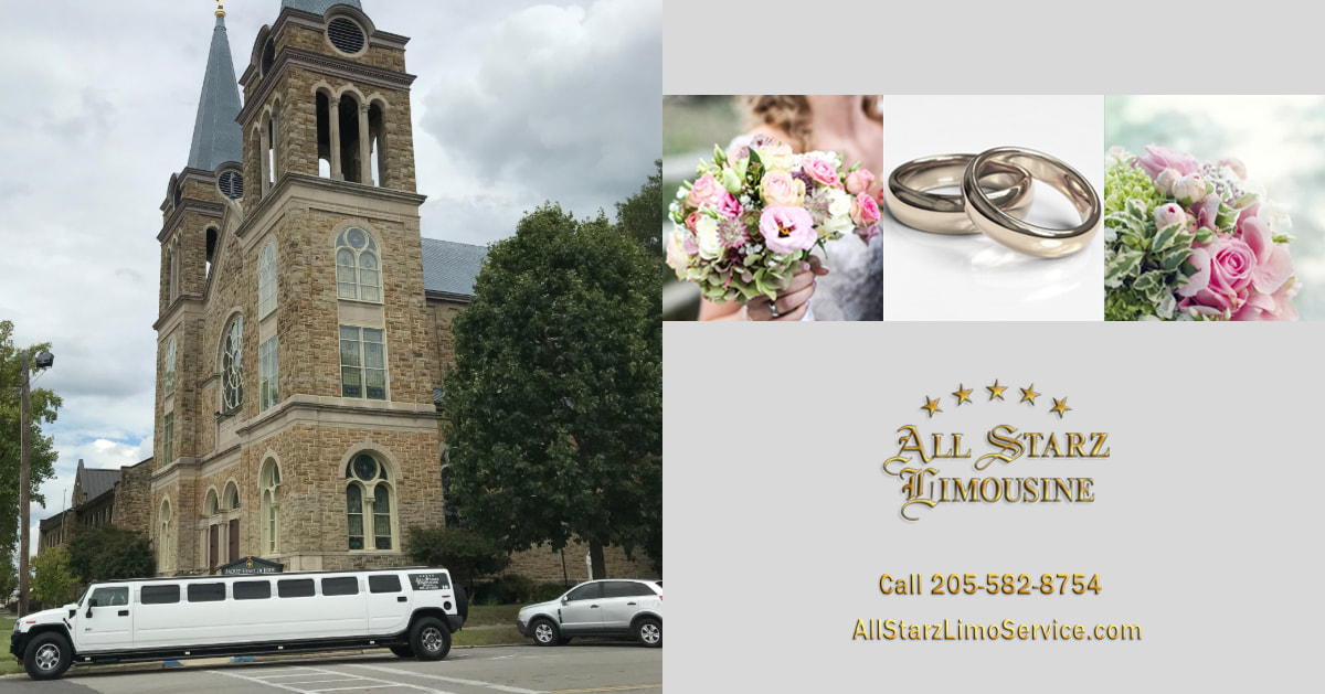 Let All Starz Limousine Service be a part of your Wedding Plans